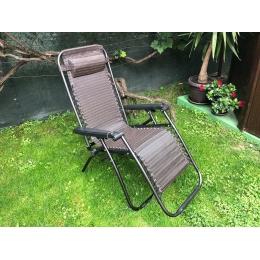 Baštenska rasklopiva stolica-ležaljka sa jastukom
