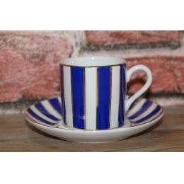 Šolje za kafu plavo bele